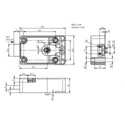 Mauer 70040 (Varos) + 3 clés