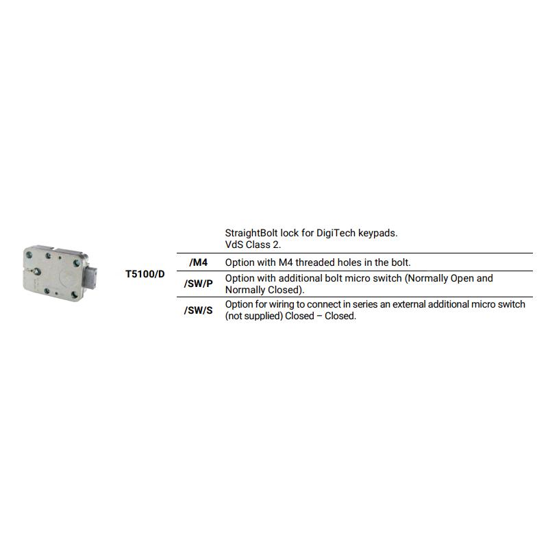 Tecnosicurezza T5100D